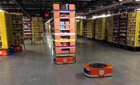 amazon warehouse robots tracy ca amazon s new robot army is ready to ship