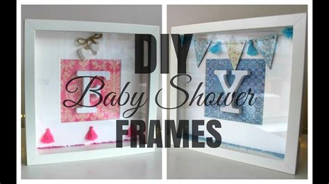 personalised presents with ribba frames ikea hackers ikea hack diy ribba initial frame baby shower gift youtube