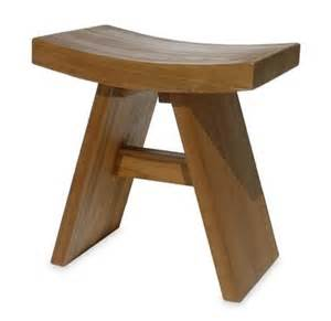 Teak Bathroom Stool Uk Teak Bath Shower Stool Bathroom Stools Faraway Furniture