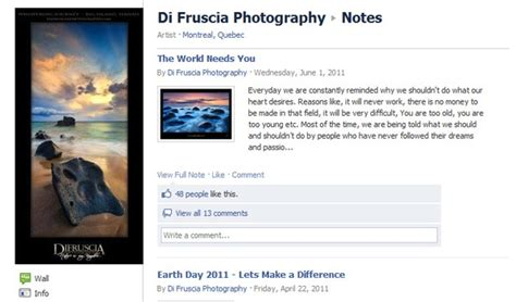 bio exles for fb 5 tips on how to utilize facebook for your photography brand