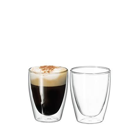 Hkw Kitchen Gelas 250 Ml avanti cafe wall glasses set of 2 250ml fast shipping
