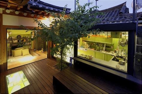 korean house interior traditional korean house with modern italian style 9 photos my modern met