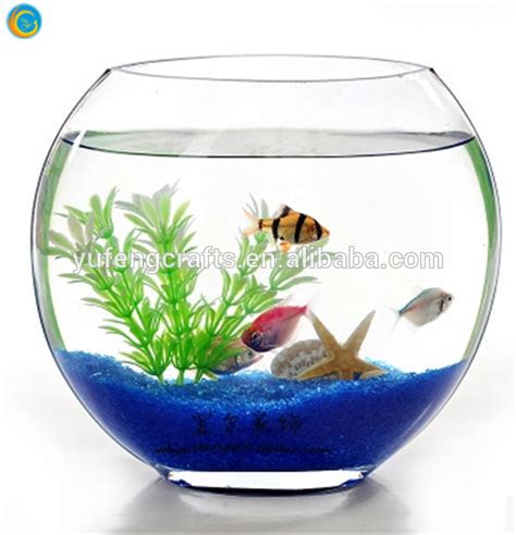 Oblique Glass Fish Bowl/glass Fish Tank   Buy Clear Glass Fish Tank For Sale,Unique Glass Fish