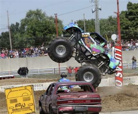 monster truck kids show how to safely encourage your kids to take risks fatherly
