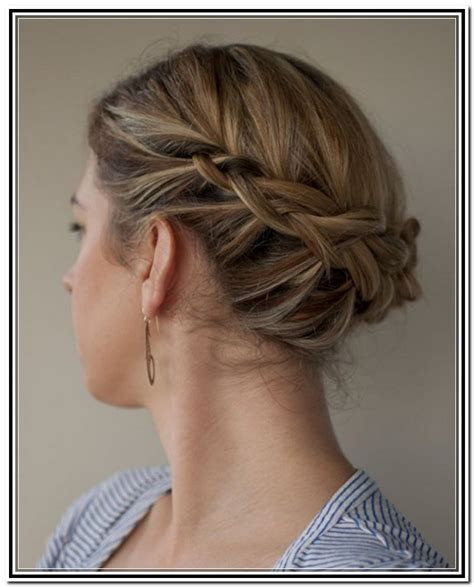 20 great updo styles for short hair styles weekly