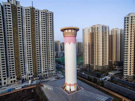 pollution en chine une tour de 100 m 232 tres pour 233 purer l air sciences et avenir