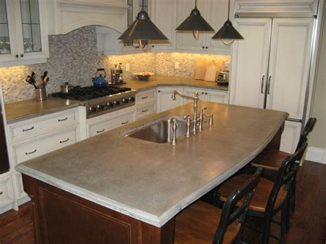 Toronto Countertops by Classic Kitchen Traditional Kitchen Countertops Toronto By Concrete Elegance Inc