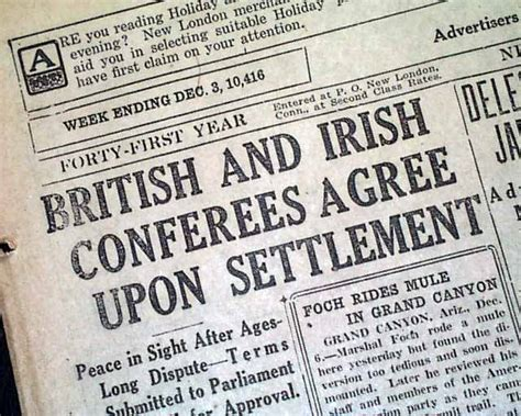 Anglo Treaty Negotiations Essay by Anglo Treaty Signed Rarenewspapers
