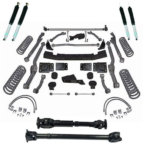 Mopar Jeep Lift Kit Mopar P5155075 Mopar 174 Performance 4 5 Quot Arm Lift Kit