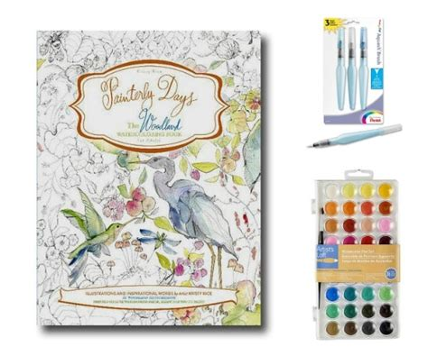 pattern watercoloring book for adults beginner watercolor painting with painterly days empress