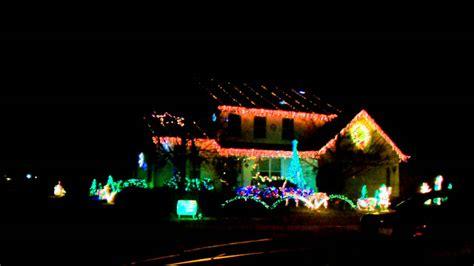 kenosha wis home w christmas lights sync music youtube