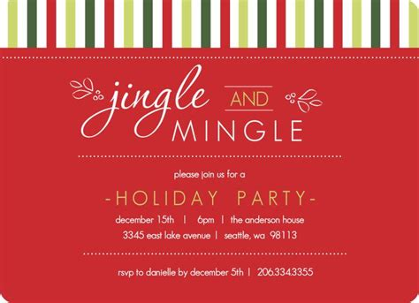 24 best christmas party invites images on pinterest