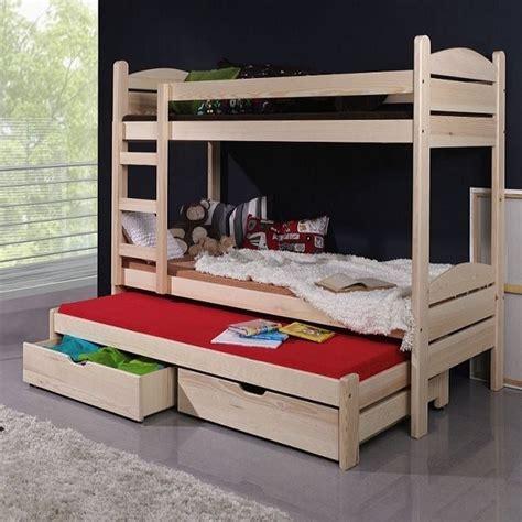 lit enfant superpos 233 severine avec lit gigogne 3 couchages www petitechambre fr
