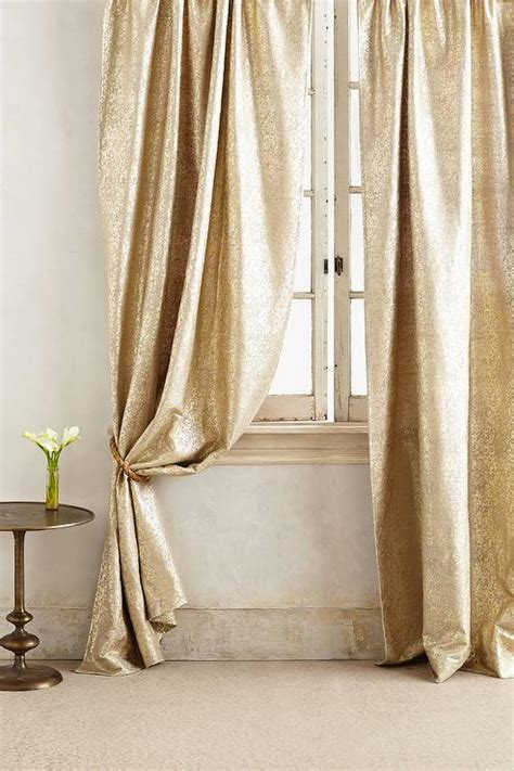 gold bedroom curtains gilded gold waves curtain