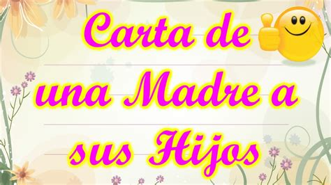 carta de una madre a sus hijos poemas para mama de hija www imgkid com the image kid