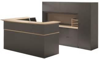 Receptions Desks Ovation Custom Reception Desk Workstation