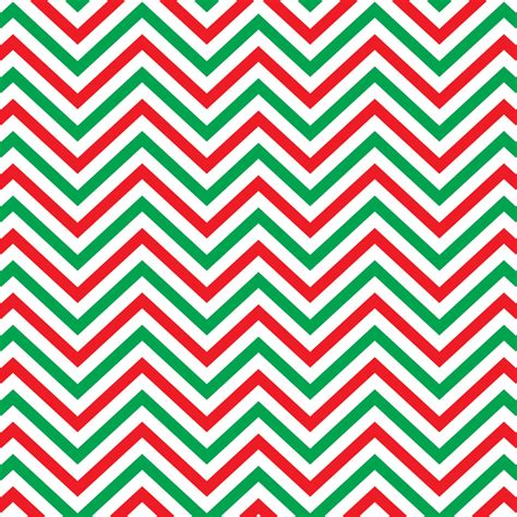 green zig zag pattern red green and white chevron heat transfer or adhesive vinyl
