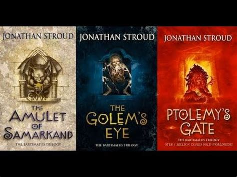 Bartimaeus Trilogy the bartimaeus trilogy a series review