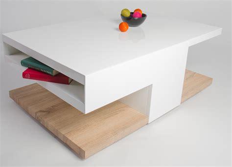 table basse bois blanche table basse blanche et bois clair table basse table