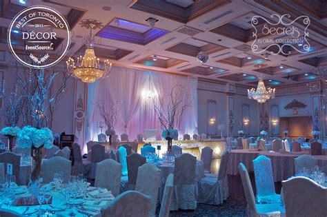 Winter Wedding Church Decorations - a winter wonderland wedding reception decoration quot best of toronto decor 2015 quot toronto