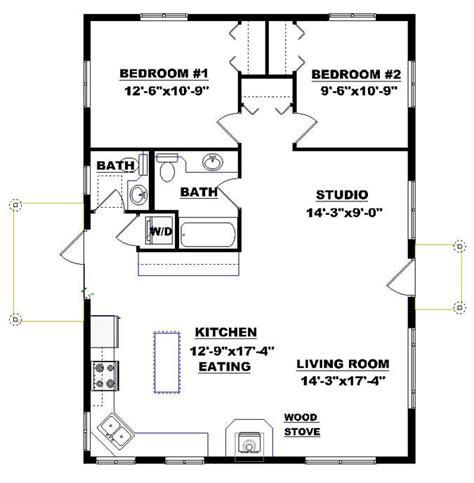 bungalow cabin plan get away home description