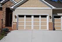 steel wood garage door courtyard collection cedar