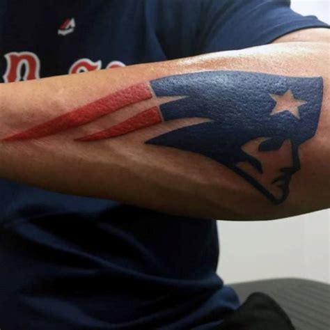 new england patriots tattoo 40 new patriots designs for nfl ink ideas