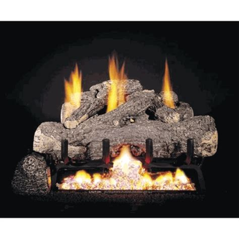 Ventless Gas Logs Real Fyre 16 Quot 18 Quot Charred Frontier Oak Ventless
