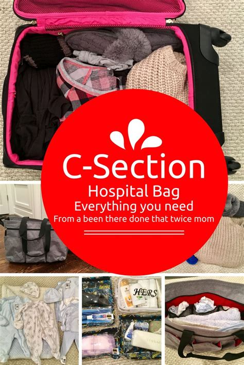 packing for hospital c section 17 best ideas about delivery hospital bag on pinterest