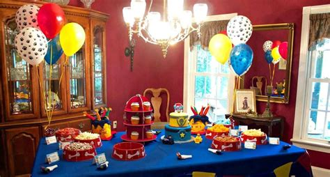 Bday Party Decorations At Home Ultimate Guide To Organizing A Paw Patrol Party Tom S