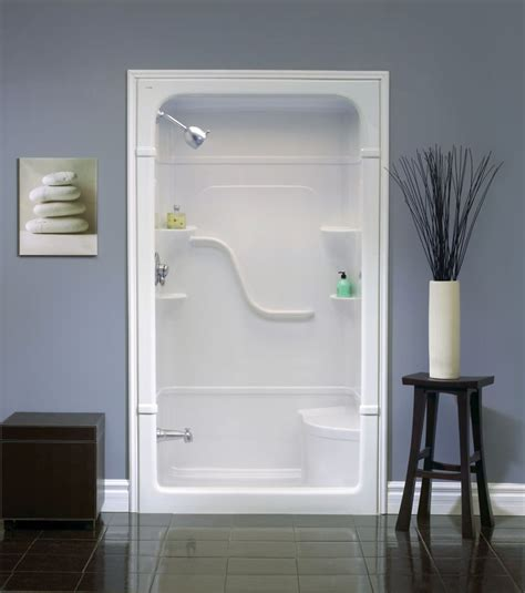 Showers Bathrooms Shower Stalls Home Decor One Fiberglass Shower Stalls Dining Benches With Storage Modern Mirrors For