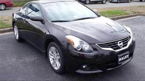 nissan coupe 2013 2013 nissan altima 2 5s coupe walkaround start up tour
