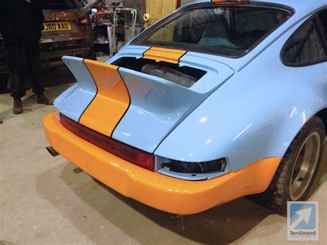 porsche 911 modified mclaren man s retro classic gulf porsche 911 sc ferdinand