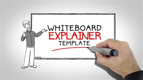 After Effects Templates Whiteboard Explainer Youtube Animated Explainer Templates