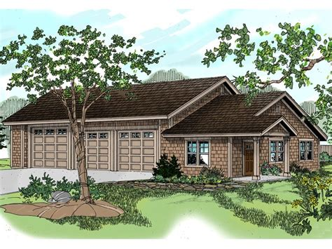 3 car garage plans three car garage plans 3 car garage plan with hobby room design 051g 0037 at www