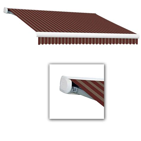 retractable awnings home depot awnings in a box awnings the home depot