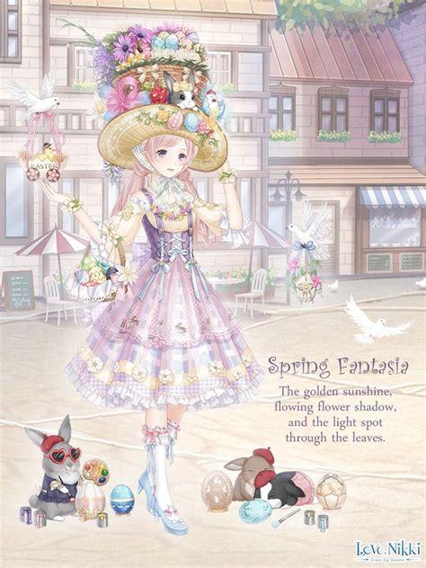 spring fantasia love nikki dress  queen wiki fandom