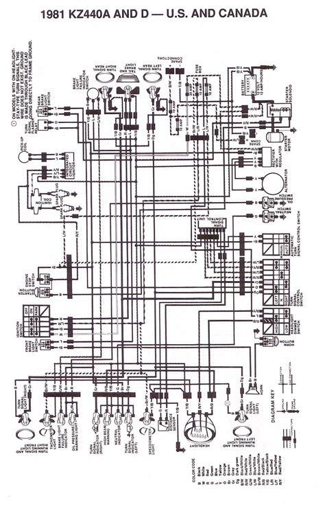 kawasaki motorcycle wiring diagrams 83 550 kawasaki