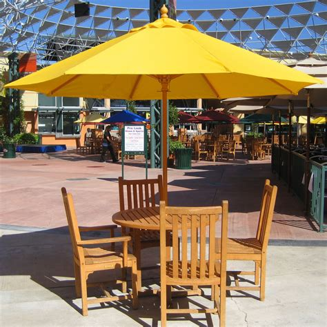 Patio Table With Umbrella Patio Umbrella Table Outdoor Furniture Design And Ideas