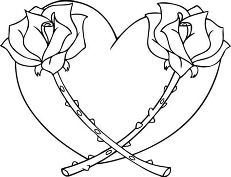 hearts coloring pages 20 free printable hearts coloring pages