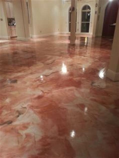 reflective flooring on