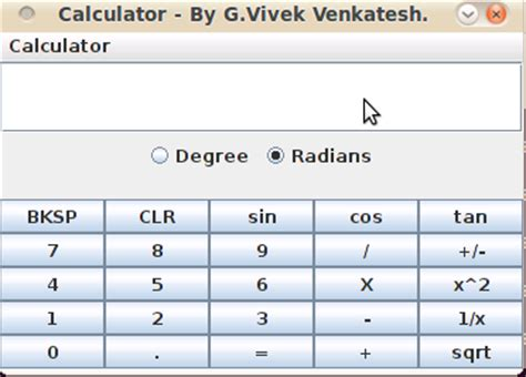 calculator java app the totality of cse a simple scientific calculator in java