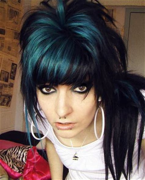 emo hairstyles in a ponytail latest emo hair styling ideas