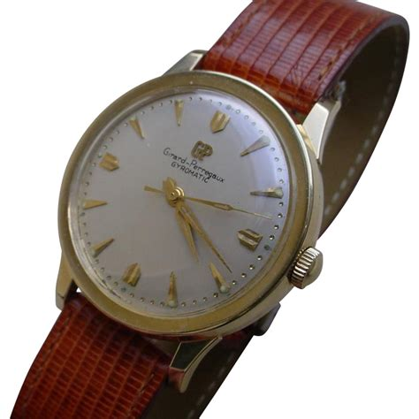 Gw 234 B Big Drs0386 vintage girard perregaux gyromatic 14k solid gold from afinewatch on ruby