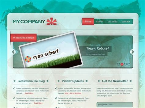 layout desain web desain web dengan photoshop tutorial web design