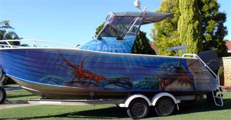 fraser boats for sale perth overkill boat airbrush art professional air brush artist