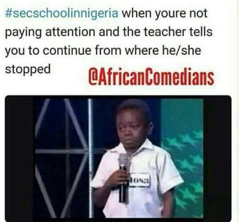 Naija Memes - stella dimoko korkus com secondary school in nigeria memes