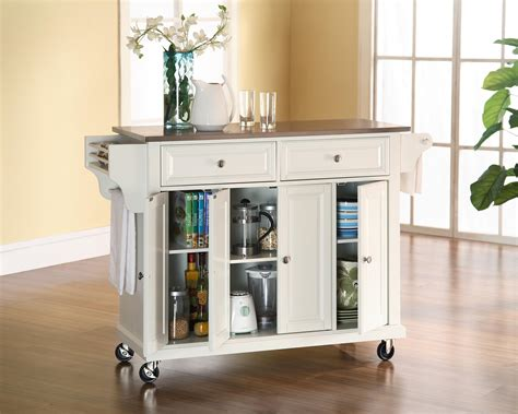 kitchen cart ideas best kitchen cart ideas with wheel for home needs homesfeed