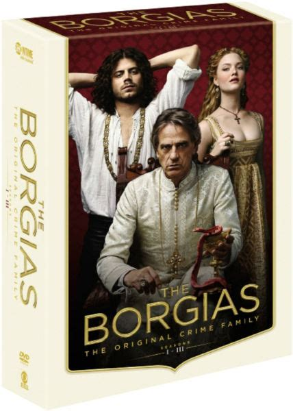 The Borgias Season 1 3 Lengkap The Borgias Seizoen 1 3 Dvd Zavvi Nl