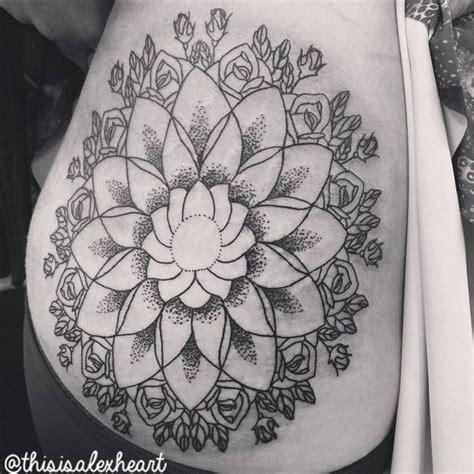 tattoo mandala bein blumen mandala tattoo von alex heart